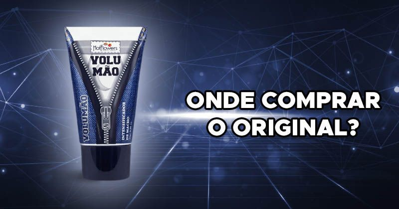 super gel volumão onde comprar original