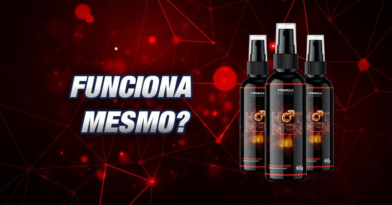 hot men gel funciona